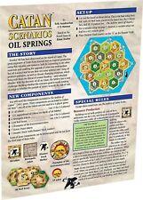 Catan Scenarios: Oil Springs Mini Expansion Catan Studios Settlers CN3116