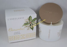L'ERBOLARIO Candela profumata OSMANTHUS vaso durata 28h scented candle perfumed