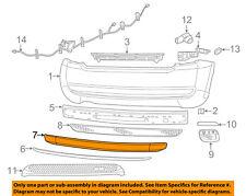 FIAT OEM 12-13 500 Rear Bumper-Protector Guard Sill Plate 68070085AA