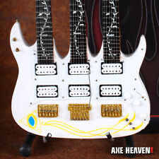 Mini Guitar Steve Vai Collectible Jem Triple-Neck Guitar Replica