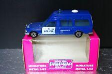 MB Mercedes Benz 300 D W123 Policia Polizei 1:43 NOREV Jet car Box