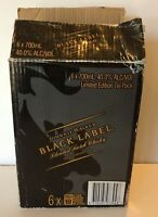 Vintage Rare Johnnie Walker Black Label Limited Edition Collectors Tin Box