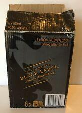 Vintage Rare Johnnie Walker Black Label Limited Edition Collectors Tin Box