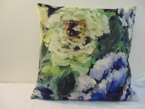 Designers Guild Velvet  Fabric Bloomsbury Rose Indigo Cushion Covers  D4