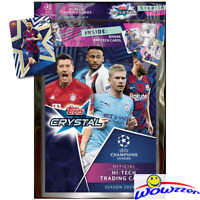 2019/20 Topps Champions League CRYSTAL Soccer Sealed STARTER KIT-Album+LE MESSI+