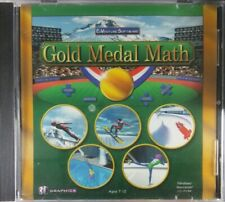 Gold Medal Math (Ages 7-12) (PC-CD-ROM 2002) for Windows 98/2000/XP/Vista