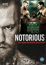 Notorious - The Conor McGregor Collection Box Set + Brandao Fight DVD