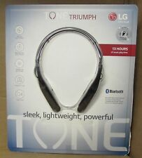 Lg Tone Triumph Bluetooth Wireless Stereo Headset Neckband Headphone Hbs-510