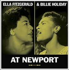 Ella & Holiday, Billie Fitzgerald-At Newport 180 G Split LP VINYL LP NEUF