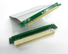 PCI-E Express16X Riser with Silver Flex High Speed Cable