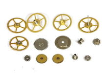 Gruen N710CA (17 jewels) precision gears & wheels - 116418