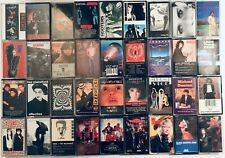 You Pick Cassette Tapes: 80s, Pop, Rock, Madonna, Wham, Michael Jackson, Whitney