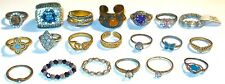LOT of TWENTY (20) ASSORTED Antique/Vintage RINGS~MOST with STONES! NR!