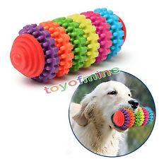 Coloridos encías Dientes de goma perro de mascota cachorro sano Chew Toy