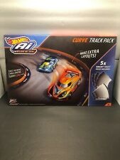NEW HOT WHEELS Ai INTELLIGENT RACE SYSTEM CURVE TRACK EXPANSION PACK 5 PIECES