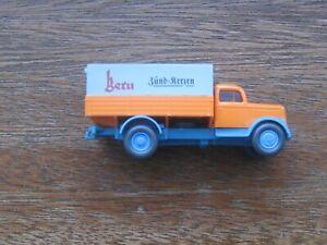 "Wiking Opel Blitz 39 ""Beru"" Truck. HO Scale. Original Box."