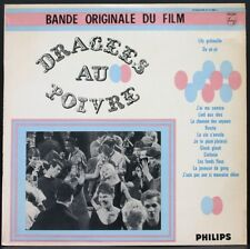 DRAGEES AU POIVRE Rare LP BO FILM 63 Belmondo Karina Daumier Lagrange Solleville