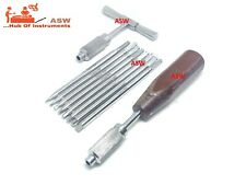 Orthopedic Bone Screw Driver Set With Quick Coupling Handle Surgical Instruments