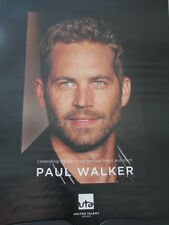 PAUL WALKER Tribute Ad  1973-2013 close up looking at you RARE