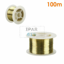 329ft 0.1mmGold Molybdenum Cutting Wire Separator LCD Glass For Iphone handle