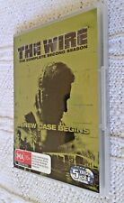 THE WIRE-  SECOND SEASON – DVD, 5-DISC, R-4, LIKE NEW, FREE POST IN AUSTRALIA
