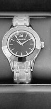 Swarovski Alegria Quartz Black Dial Ladies Watch 5188844 NIB