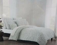 Indigo Collection 100% Cotton King Size 3 pieces Duvet Set, Gray