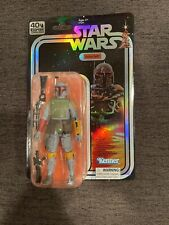 6? BOBA FETT STAR WARS BLACK SERIES SDCC 2019 EXCLUSIVE 40th ANNIVERSARY SEALED