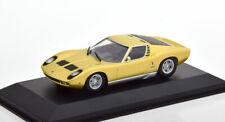 1:43 Minichamps Lamborghini Miura 1966 golden