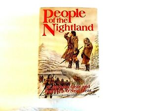 People Of The Nightland W. Michael Gear & Kathleen Gear 2007-Hbdj/1st-1st/VG+++.
