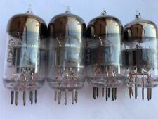 6N23N/E88CC/6DJ8/7308 QUAD(4) NOS RUSSIA MILITARY TUBES (SILVER SHIELD)