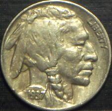 RARE 1937-D BUFFALO NICKEL FULL DATE + FULL HORN HIGH GRADE QUALITY TONING COIN