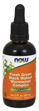 Fresh Green Black Walnut wormwood complex Now Foods 2 oz Liquid