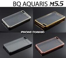 Funda flex-color para BQ AQUARIS M5.5 carcasa protector ultra-delgado