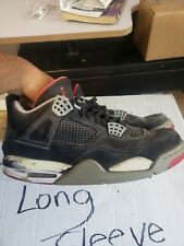 BEATERS Air Jordan Retro 4 Bred Size 10.5