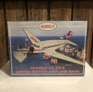 Humblw Exxon Issue DC-3 Diecast New In Box Made by Liberty - 1 of 5000!