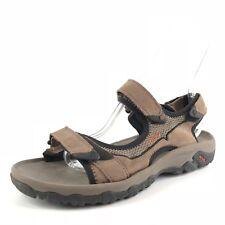 TEVA 4290 MOZEL Brown Leather Adjustable Sport Sandals Men's Size 8 M