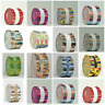 20 Cotton Jelly Roll Fabric Strips for Quilting Patchwork Sewing Craft Bundles