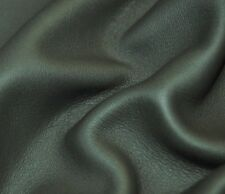 225 sf 3 oz.Gray / Green Upholstery Cow Hide Leather Skin d3es -v