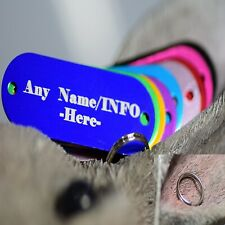 New 2020 collar pet tag free ring dog tags cat tag personalized engraved custom