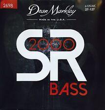 Dean Markley 2698 SR2000 Bass Guitar Strings 6-string set  gauges 27-127