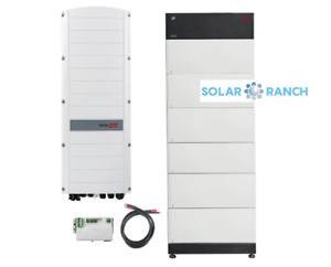 BYD B-BOX Premium LVS 16.0 + SolarEdge Dreiphasen-Wechselrichter SE8K