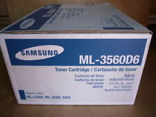 Samsung ML-3560D6 Black Toner Cartridge Genuine NEW OUT OF BOX