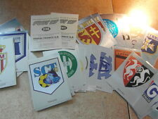original FOOTBALL STICKERS PANINI FOOT 97 1997 FRANCE ECUSSONS  Voir liste