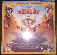 AN AMERICAN TALE FIEVEL GOES WEST LaserDisc (41067, 1991) NEW