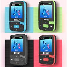 Lecteur Audio Mp3 Bluetooth Clip Sport Radio Lecteur Carte Enregistreur_8Go