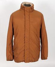 $4150 - LORO PIANA Nylon / Cashmere / Down / Jacket Coat - Brown - S / M