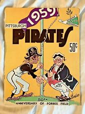 VINTAGE! 1959 Pittsburgh Pirates Season Preview Guide