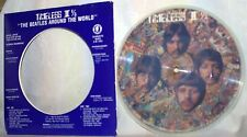 "The Beatles-7""Picture Disc-""The Beatles Around the World""-4 Interviews-Near Mint"