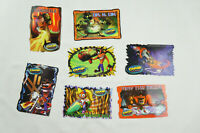 Crash Bandicoot Vintage 1999 Collectible Sticker Set 1 with 7 Stickers S01